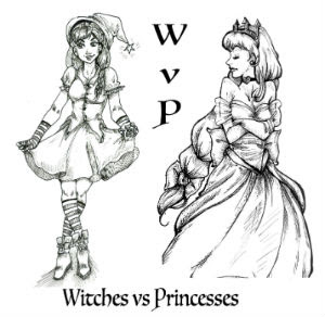 Witches vs Princesses free stage play script for kids children