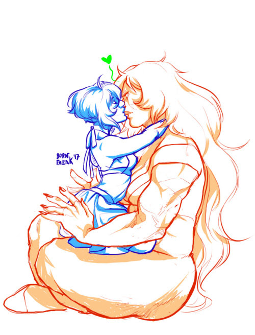 Anonymous said: Anything Jaspis related would be awesome! Answer: Jasper doesn't know what to do with her.