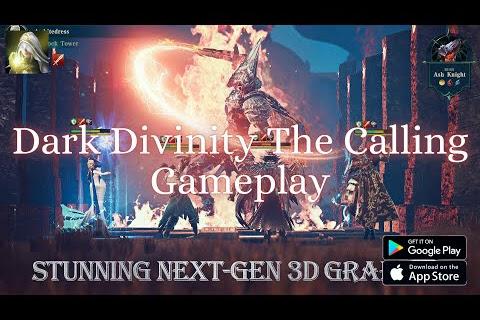 Dark Divinity The Calling - Gameplay, 3D Dark Fantasy RPG, APK
