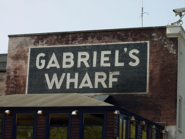Gabriels wharf in London
