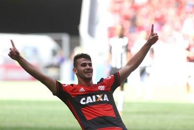 Vizeu - Flamengo x Atlético-MG (Foto: Gilvan de souza/ Flamengo)
