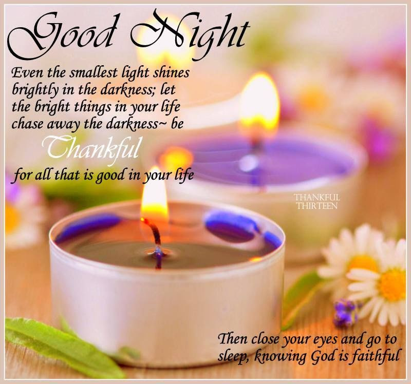 Thankful Good Night Quote Pictures Photos And Images For Facebook