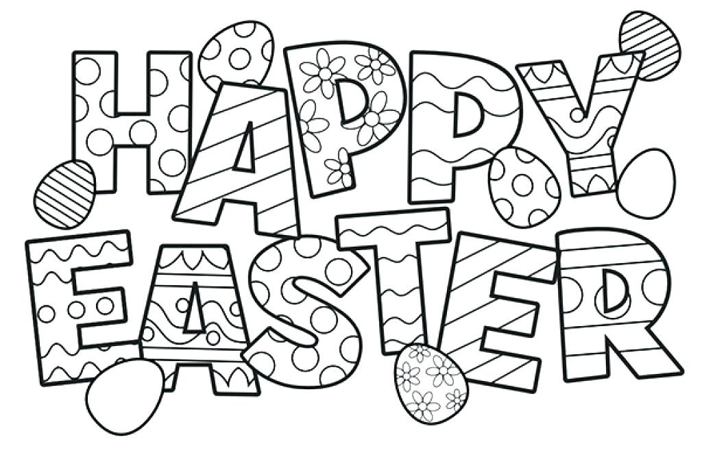 Easter Egg Coloring Pages For Adults at GetDrawings | Free ...