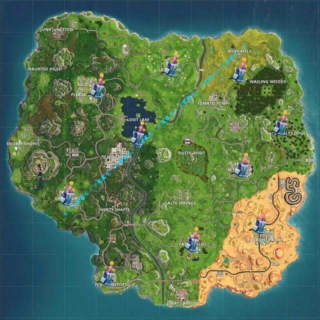 Fortnite Birthday Cake Locations: Where are the Fortnite ...