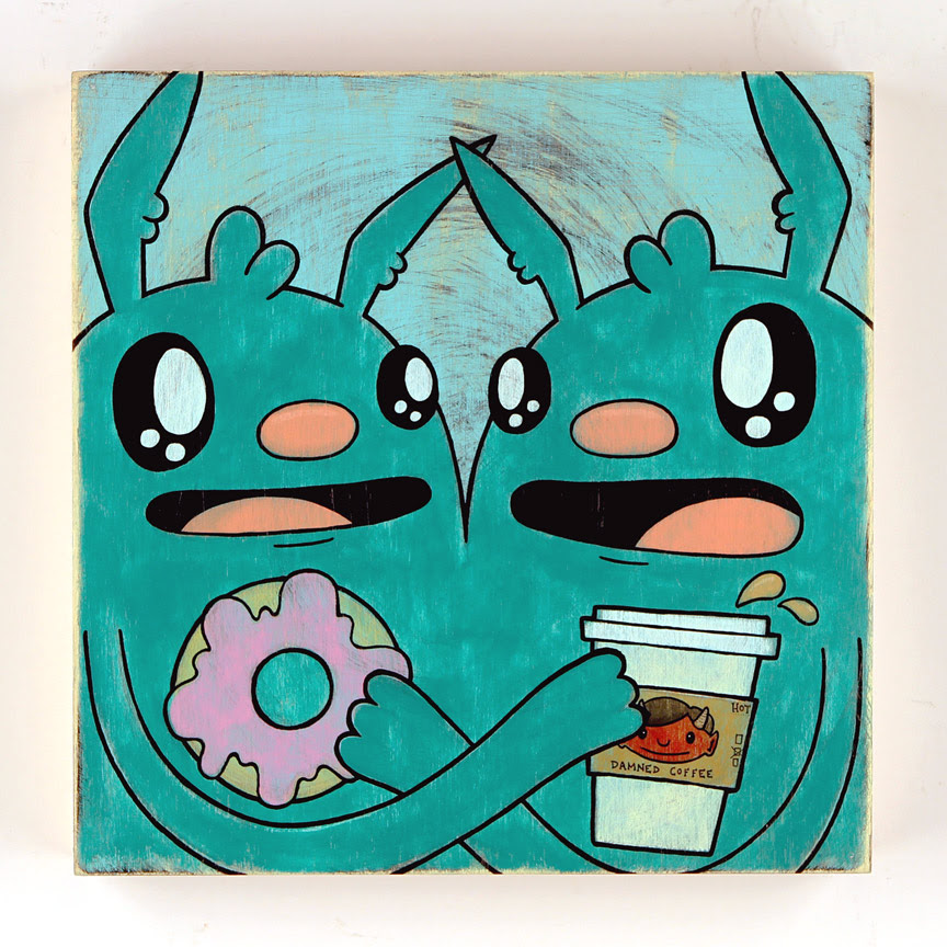 Coffee & Donuts by Kill Taupe