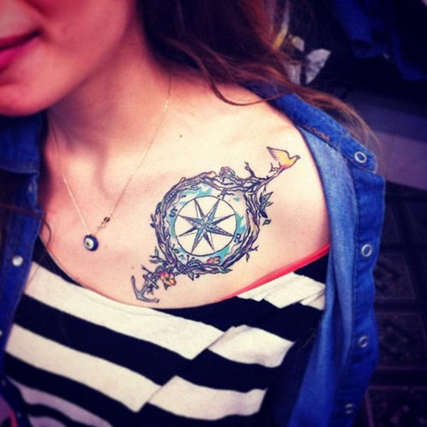 40 Collar Bone Tattoo Ideas For Girls