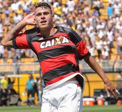 Matheus Sávio, Corinthians x Flamengo, Final Copa SP Copinha 2016 (Foto: Agência Estado)