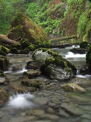 Cascade on Boulder River
