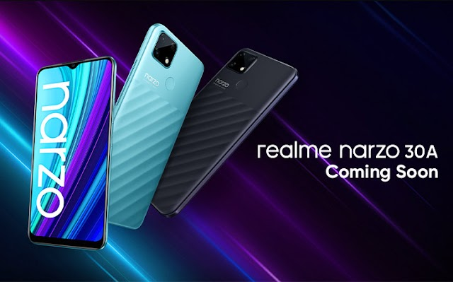 Realme Narzo 30A is Coming to Pakistan Quickly; Debut of the Finances Narzo Collection in Pakistan