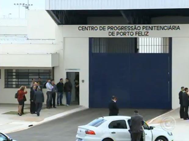 A unidade prisional foi inaugurada em agosto em Porto Feliz (Foto: Reprodução/TV Tem)