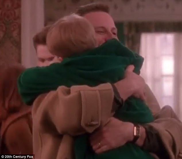 At the end of the film, McCallister's family return home after leaving him to fend for himself