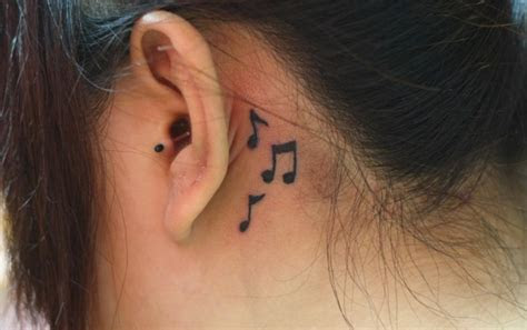 cool ear tattoos fashionsycom