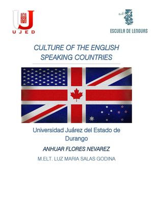 Calaméo  Culture Of English Speaking Countries
