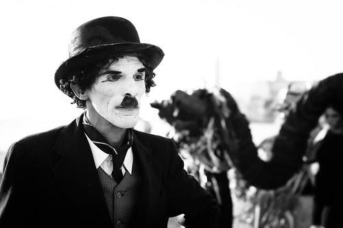 Chaplin by escael