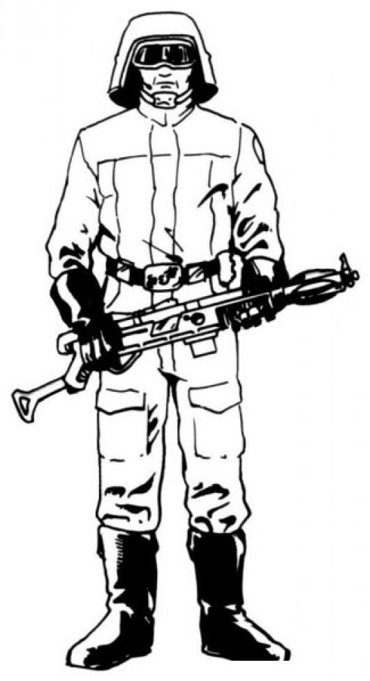 Dibujo De Soldado Ruso Para Colorear Colorear Dibujos Varios