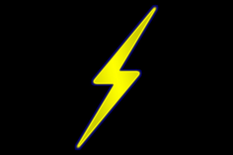 Yellow Lightning Bolt Logo - ClipArt Best