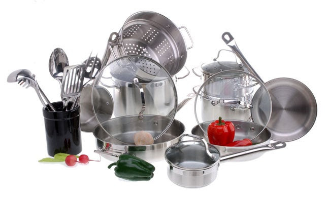 Philippe Richard 21-pc. Stainless Steel Cookware Set ...