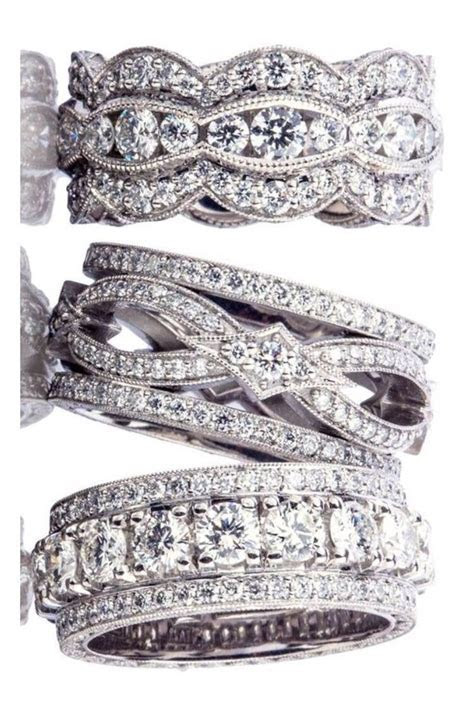 17 Best ideas about Wide Wedding Bands on Pinterest