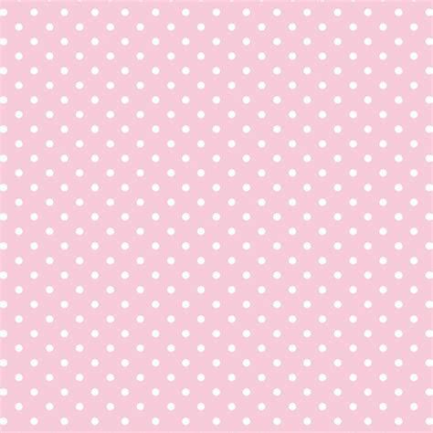 papel de parede poa branco   fundo rosa  elo