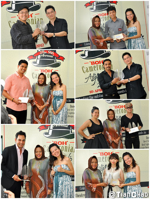 9th BOH Cameronion Arts Awards 2012 @ One World Hotel
