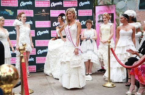 Winner Crowned at the 10th Annual Toilet Paper Wedding