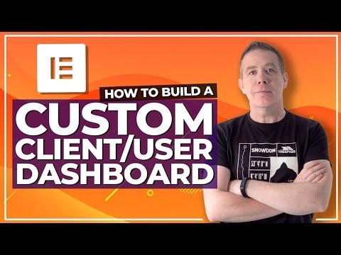 How To Create Custom Front End WordPress Dashboard