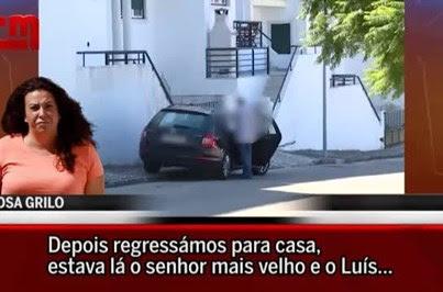 Rosa Grilo admite que tinha a arma do amante em casa