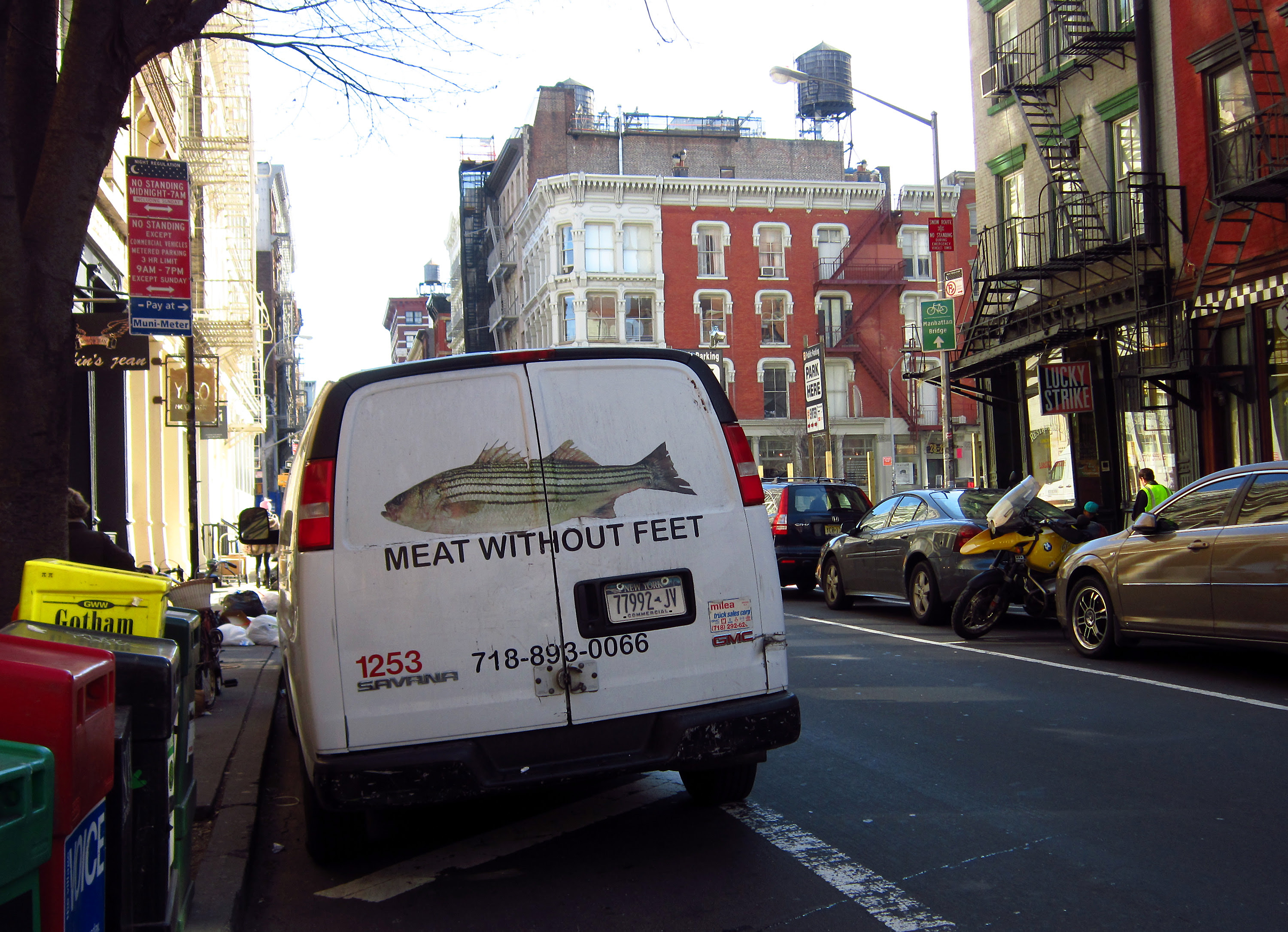 Meat without feet!