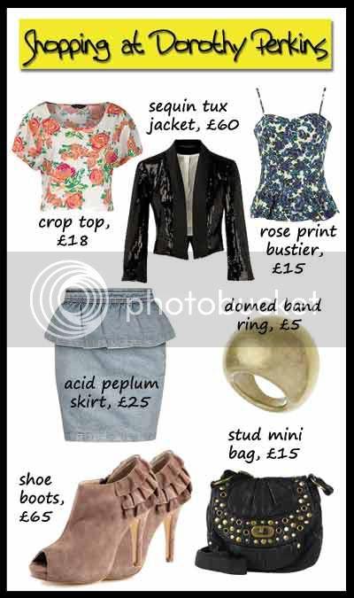 Dorothy Perkins clothing