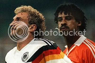 Rijkaard spitting on Voller