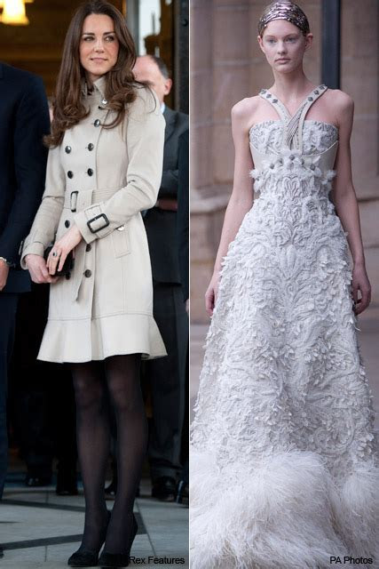 McQueen's new collection: fit for a royal wedding?
