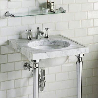 Kathryn Marble Console Bathroom Sink Set | Wayfair