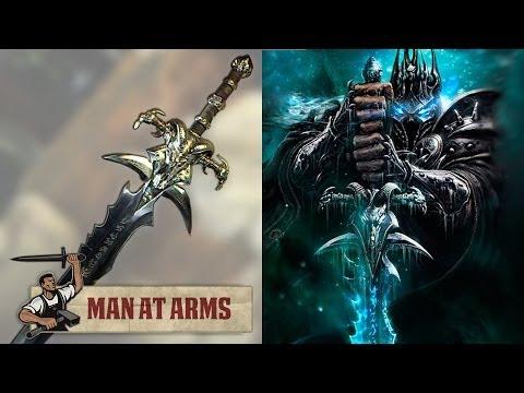 Man At Arms Lamento Gélido Lich rei WWO World of Warcraft - Mundo Nerd