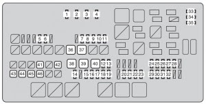 Toyota Tundra 2010 Fuse Box Diagram Auto Genius