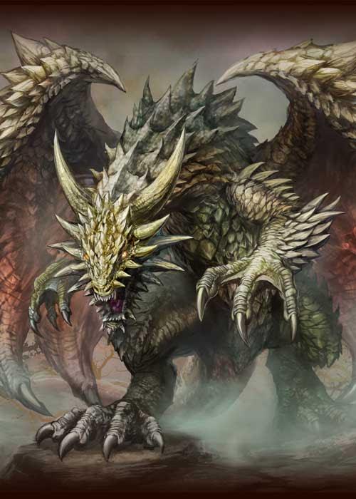 七海ルシアの個人サイト ドラゴンモンスターファンタジーイラストサイト