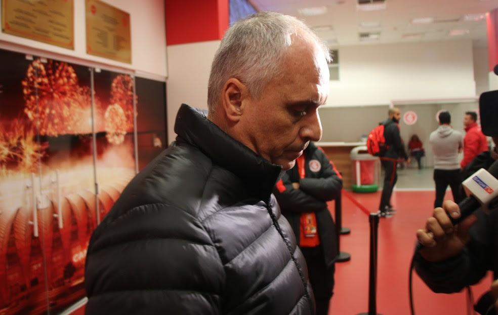 Marcelo Medeiros acredita na melhora do time (Foto: Tomás Hammes )