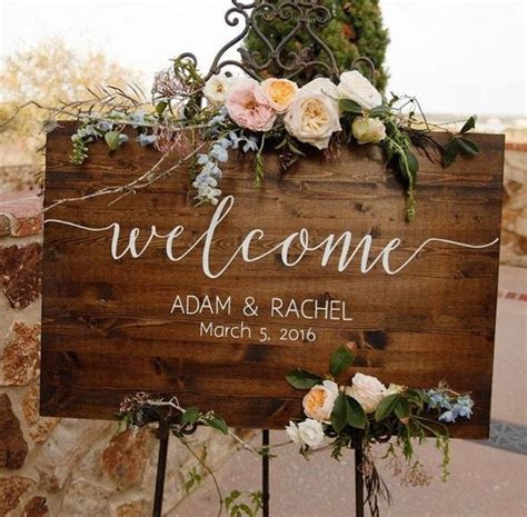 25  best ideas about Wedding welcome signs on Pinterest