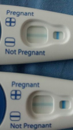 Clear Blue Pregnancy Test One Positive One Negative Pregnancy