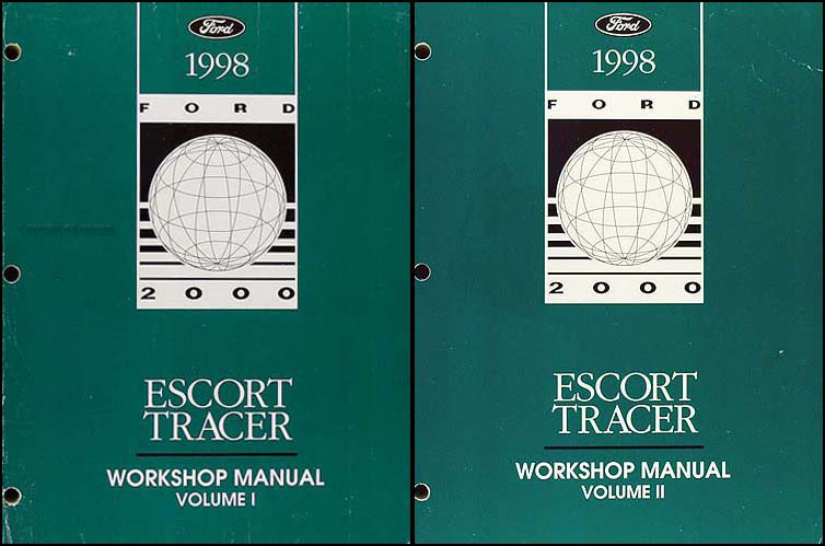 Diagram 1999 Ford Escort Tracer Service Shop Manual Set 0oem 2 Volume Set And The Wiring Diagrams Manual Full Version Hd Quality Diagrams Manual Diagrammonter Portaimprese It