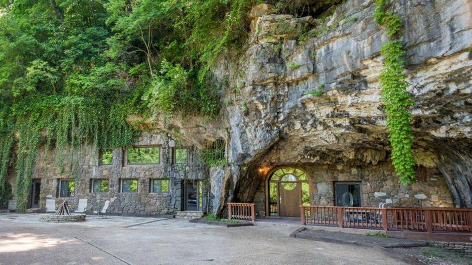 Arkansas Ozarks home inside a cave selling for $2.75 ...