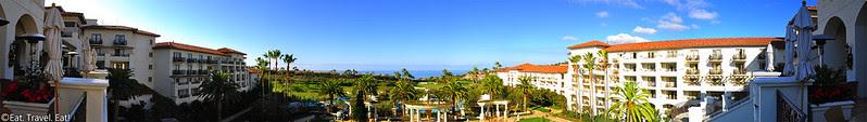 St Regis Monarch Beach- Dana Point, CA: Center View Panorama