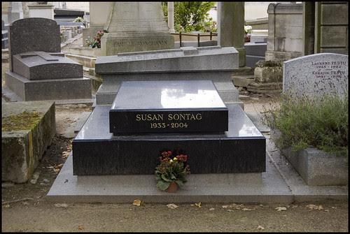 Susan Sontag's grave