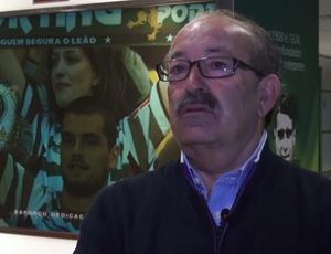 Coordenador de recrutamento do clube, Aurélio Pereira (Foto: Reprodução SporTV)