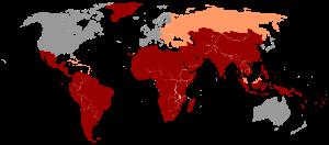 Hepatitis A Distribution 2005