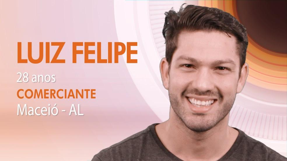 """Luiz Felipe, oitavo participante do """"BBB17"""" (Foto: Globo/Divulgação)"""