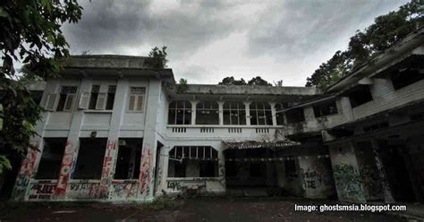 The spooky, deadly experience next to Old Changi Hospital