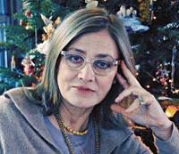 Η Κατερίνα Σχοινά, σκιτσογράφος