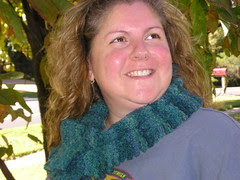 Me with a funky scarf