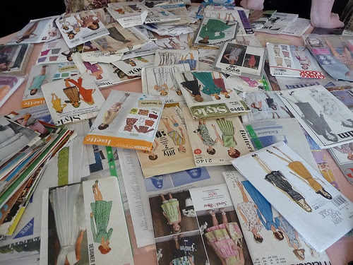 Table of patterns ready for the swap!
