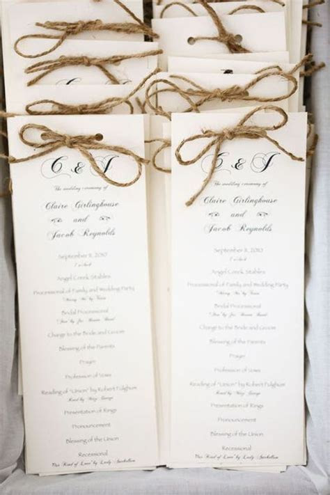 30 Ways To Use Twine At Your Wedding   Kacy's Wedding